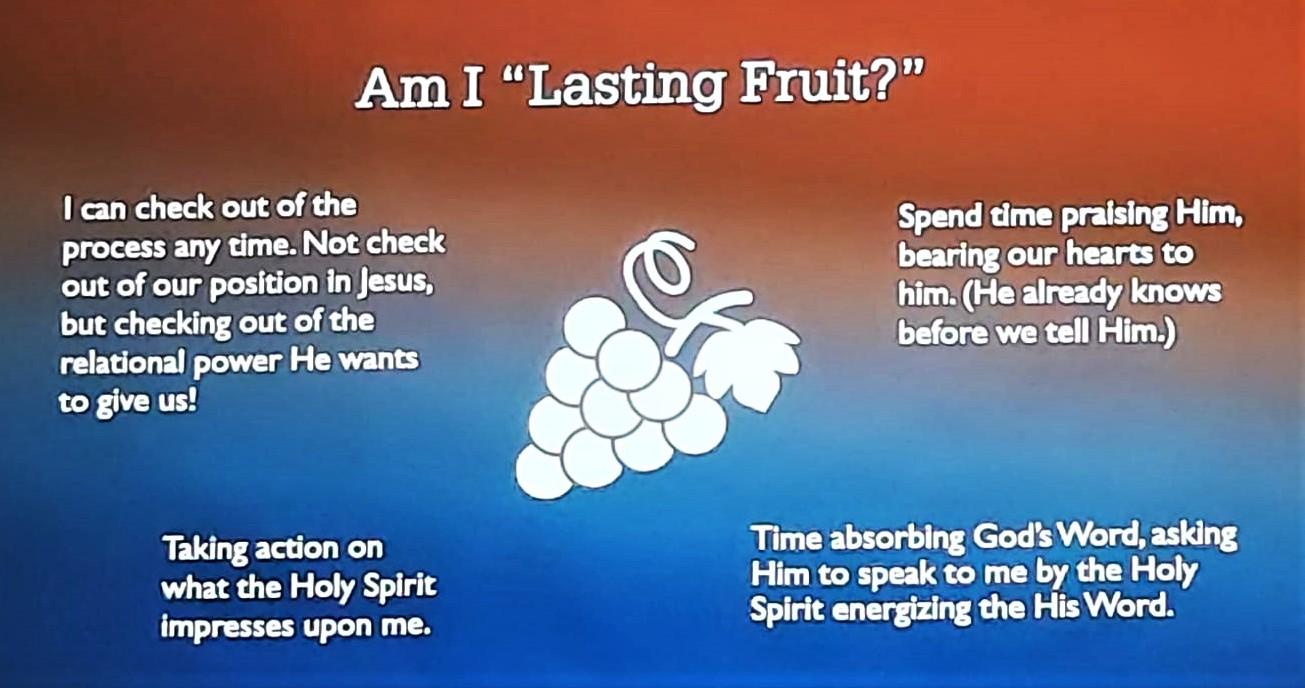 常存的果子